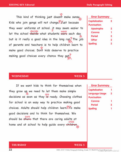 Home » Products » Daily Paragraph Editing Grade 4 » Preview