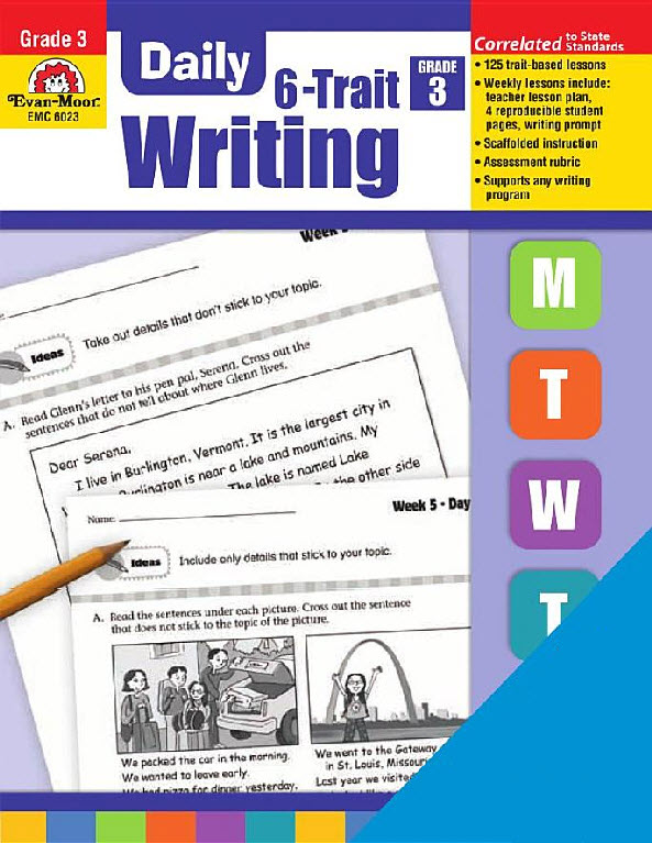 daily 6 trait writing If looking for a book by evan-moor educational publishers daily 6-trait writing, grade 1 (daily practice books) in pdf format, then you've come to the loyal website.