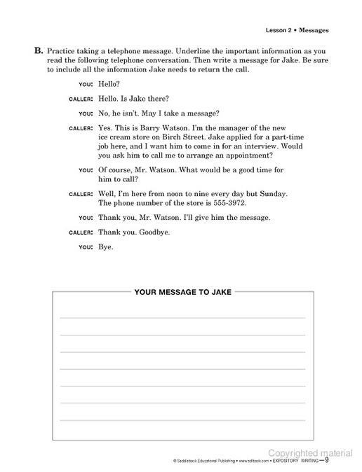 Help writing expository essay