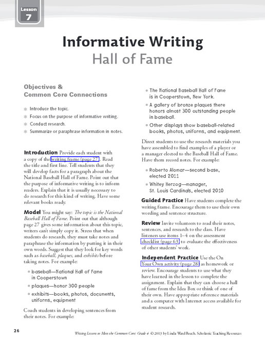 common core writing curriculum Common core state standards throughout our 37-year history updated reading/writing curriculum that adheres to ccss english language arts standards.
