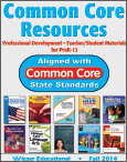 Wieser Educational Fall 2014 Common Core Catalog