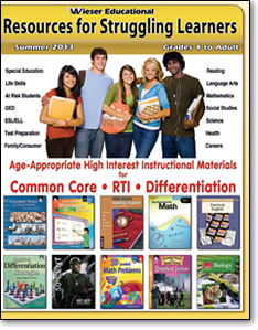 Wieser Educational Fall 2012 Catalog