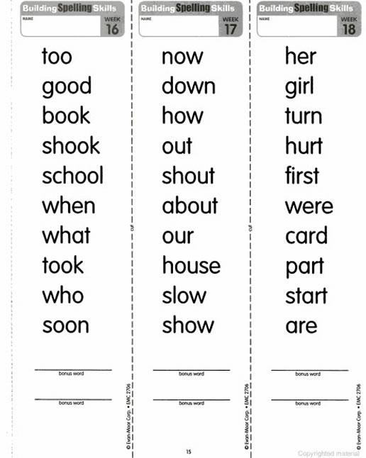 Daily Spelling Grade 6 Pdf Pdf Houghton Mifflin Spelling