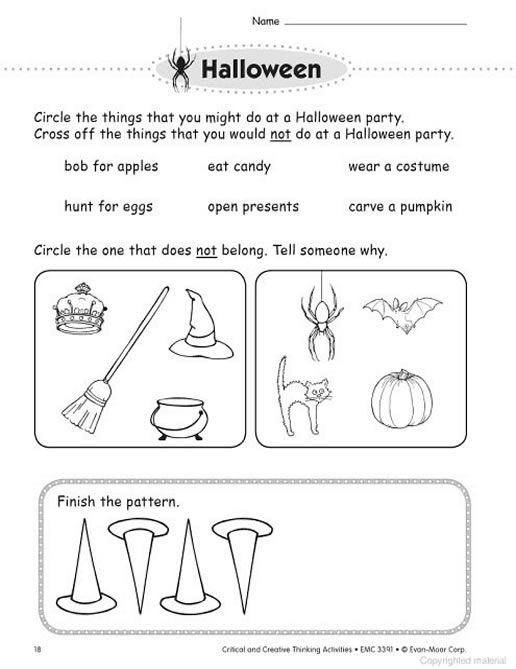critical and creative thinking activities grade 1 Critical and creative thinking activities (grade 1) e-book from evan-moorcom engage your grade 1 students in thinking skills practice with 140 pages of fun, imaginative activities that.