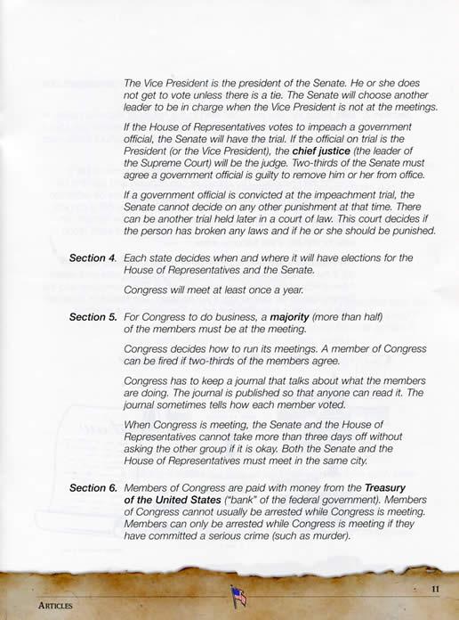 how do members of congress decide