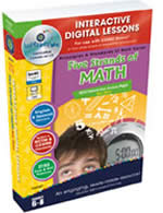 Five Strands of Math Interactive Whiteboard Lessons