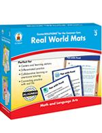 Center Solutions for the Common Core Real World Mats