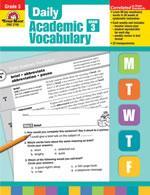 Daily Academic Vocabulary Grade 3