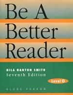 Be a Better Reader Level G Reading Level 10
