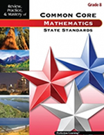 Mastery of Common Core State Standards Math