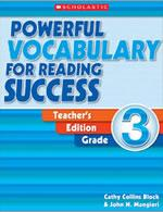 Powerful Vocabulary for Reading Success Teacher Edition Grade 3