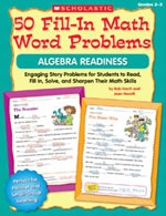 50 Fill-in Math Word Problems