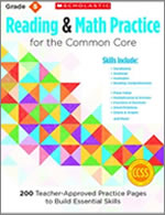 Reading and Math Practice for the Common Core