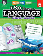 Practice-Assess-Diagnose: 180 Days of Language Series