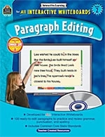 Paragraph Editing for Interactive Whiteboards and Computers