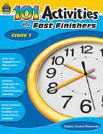 101 Activities/Fast Finishers