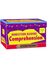 Nonfiction Reading Comprehension Cards