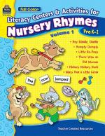 Literacy Centers and Activities for Nursery Rhymes