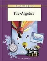 Pacemaker Pre-Algebra Textbook