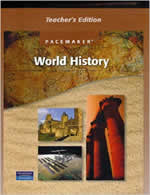 Pacemaker World History Textbook