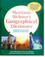 Merriam-Webster's Geographic Dictionary