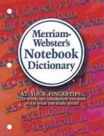 Merriam-Webster's Notebook Dictionary