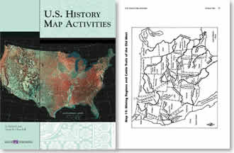 Us History Map Activities Us Map Of The United States - Us history map activities answer key war of 1812