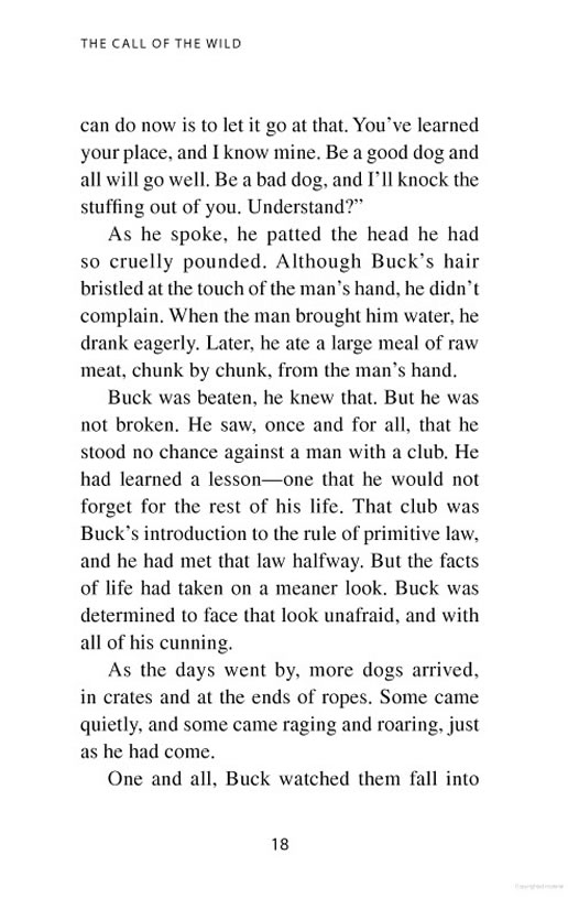 call of the wild book pdf