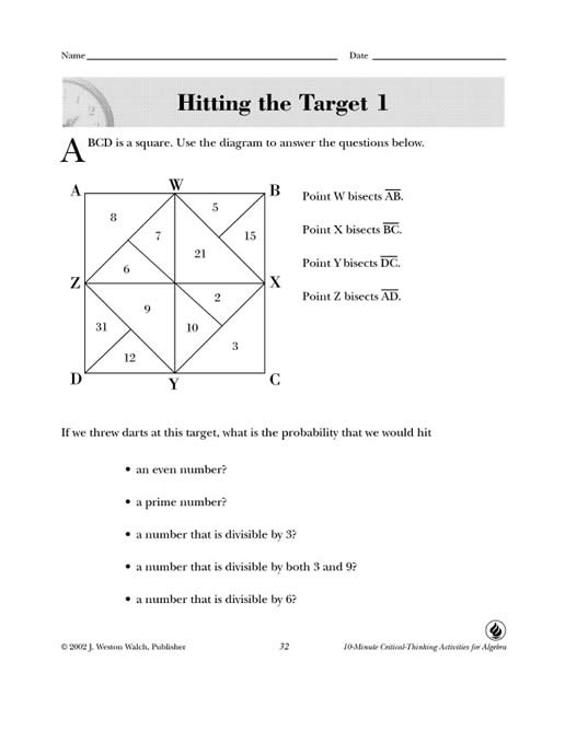 10 minute critical thinking activities for math Find and save ideas about critical thinking activities on pinterest critical thinking activities- math here are 10 critical thinking activities that.