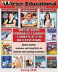 Download Wieser Educational's Latest Catalog