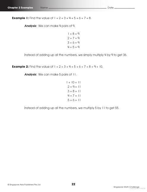 Singapore Math Challenge Grade 4