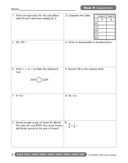 common core math 4 today grade 5 rh wiesereducational com