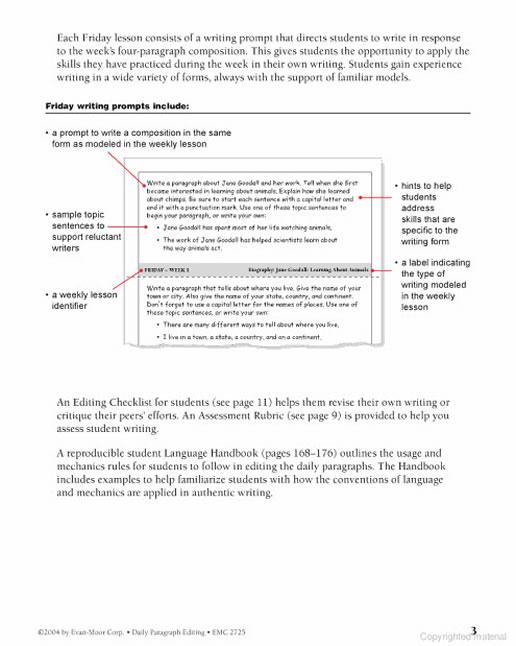 Daily Paragraph Editing Grade 2. Preview Page 3. Worksheet. Language Handbook Worksheets Answer Key Grade 9 At Clickcart.co