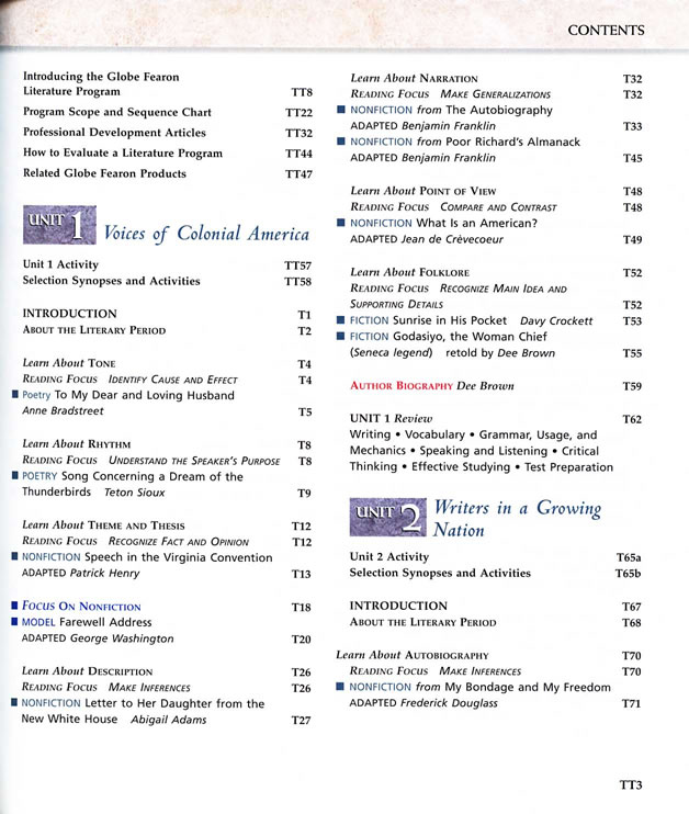Globe fearon literature silver level teachers edition preview page 1 fandeluxe Choice Image