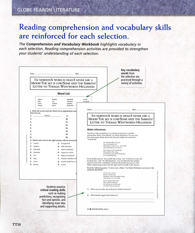 Globe fearon literature silver level teachers edition preview page 14 fandeluxe Image collections