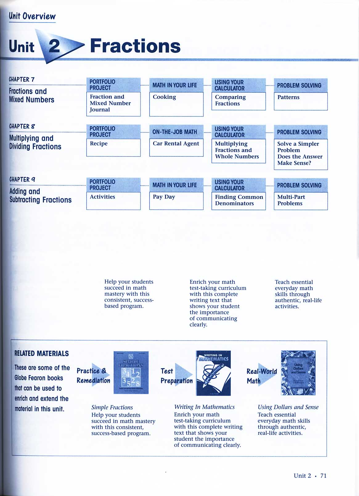 Pacemaker Basic Mathematics Teacher\'s Planning Guide