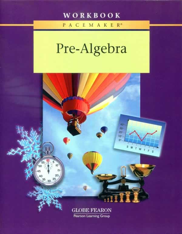 Pacemaker Pre-Algebra Student WorkBook