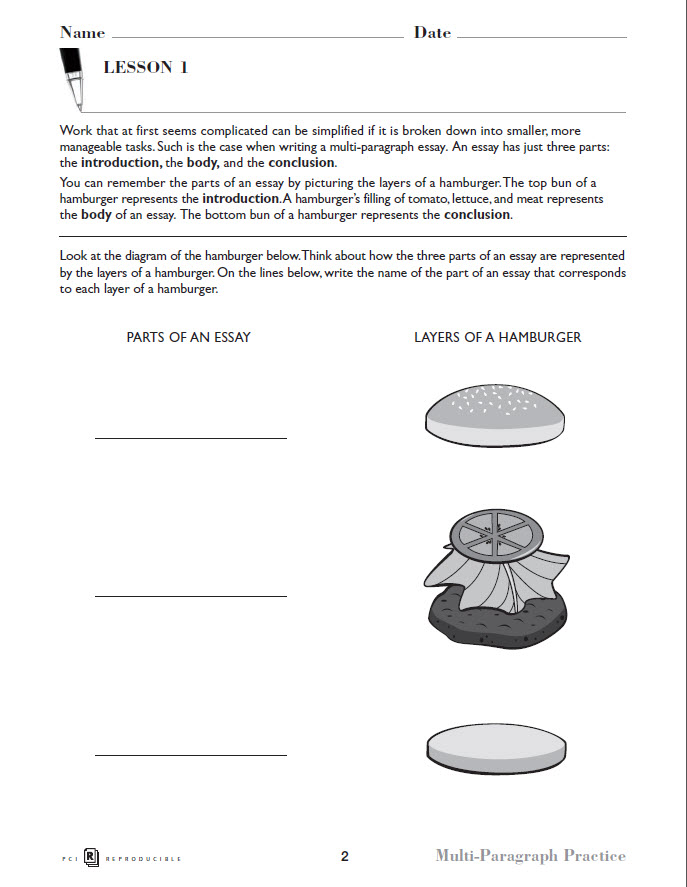 multi paragraph practice preview page 5