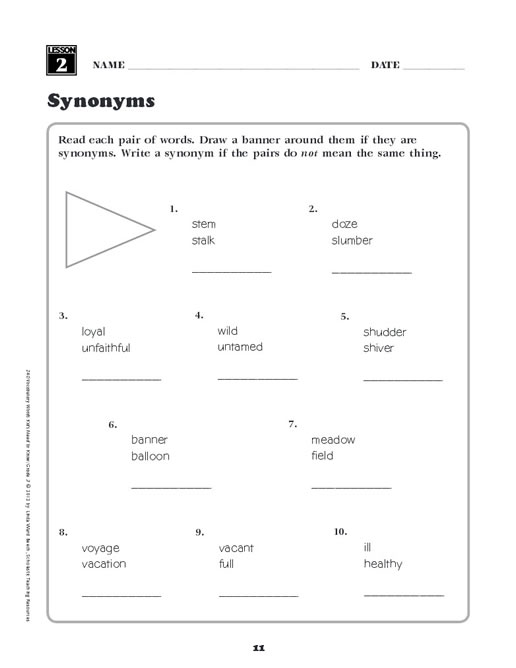 Printables Vocabulary Words For Kids 240 vocabulary words kids need to know grade 3 preview page 8