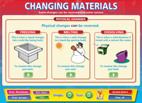 Changing Materials Interactive Software