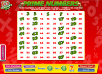 Prime Numbers Interactive Software
