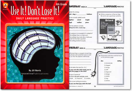Use It! Don't Lose It! Language Arts