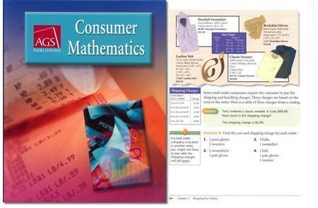 Consumer Mathematics Ags consumer math worksheets pdf