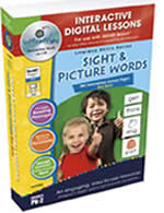 Sight and Picture Words Interactive Whiteboard  Series