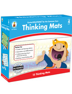 Center Solutions for the Common Core Thinking Mats