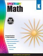 Spectrum Math Grade K