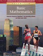 Pacemaker Basic Mathematics Classroom Resource Binder on CD-ROM