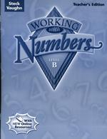 Working With Numbers Level B Teacher's Guide