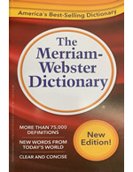 The Merriam-Webster Dictionary (Pocket 4 3/16