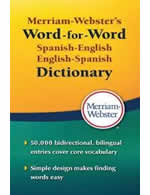 Merriam-Webster's Word-for-Word Spanish/English Dictionary